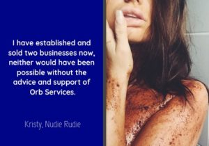 Business Plan Testimonial for Orb Services by KBG
