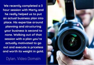 Business Plan Testimonial for Orb Services by Video Domain