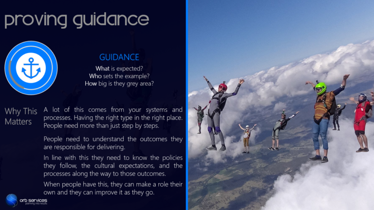 Team Building and Leadership Slide by Orb Services P14